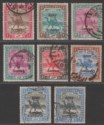 Sudan 1906 KEVII Army Service Overprint Selection to 2p Used