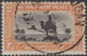 Sudan 1937 KGV Airmail 2p Black and Orange p11½x12½ Used SG53b