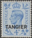 Morocco Agencies Tangier 1950 KGVI 4d opt on GB Mint SG285