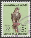 UAE 1990 Saker Falcon 50d Bright Green Used SG297